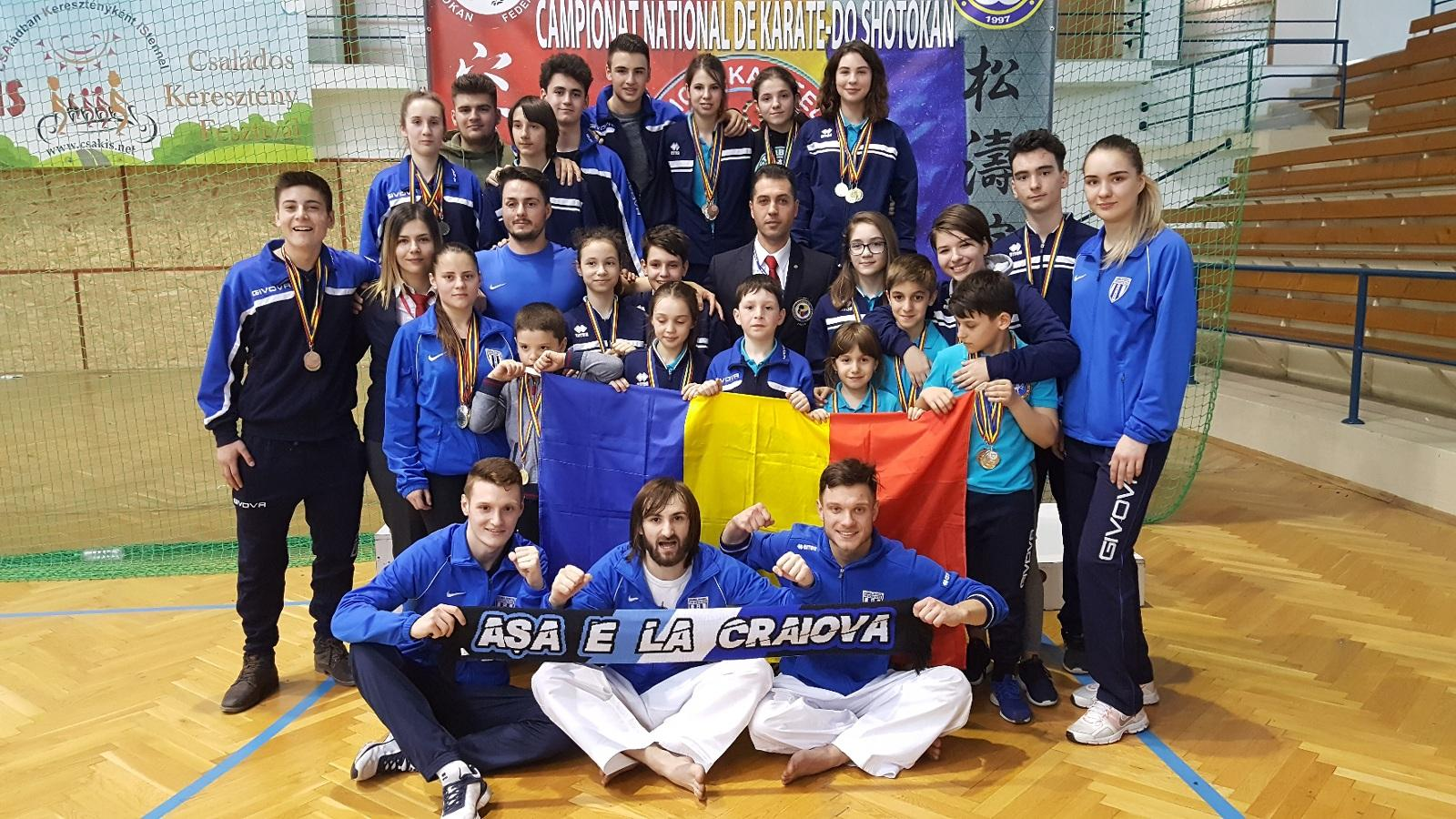 CAMPIONATUL NATIONAL DE KARATE SHOTOKAN - WSF